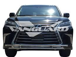 lexus of westport front bumper guard double layer s s auto beauty vanguard