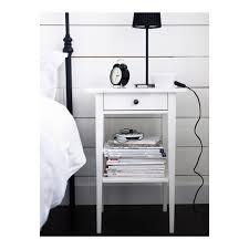 ikea white bedside table hemnes bedside table white stain ikea
