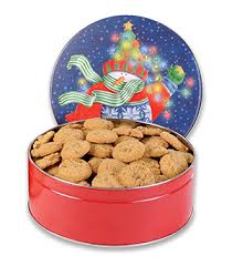1 7 oz tin pecan praline cookies a classically southern tradition