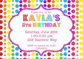 An Invitation Card Birthday Party Invitations Kawaiitheo Com