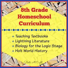 8th grade homeschool curriculum startsateight