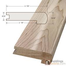 Stair Base Molding by Arcadia Moldings Flexible Baseboards Smooth Texture Three Step