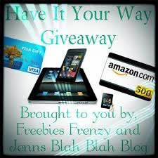 amazon black friday prizes have it your way giveaway winner chooses prize geek culture