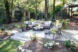 stone patio recycled stone patio outdoor oasis deeplysouthernhome