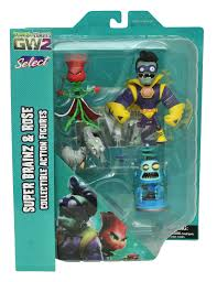 new diamond select toy releases plants vs zombies alien and