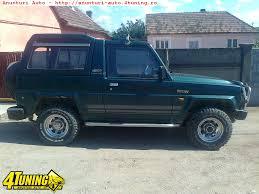 1992 daihatsu rocky daihatsu rocky fourtrak turbo diesel motorina 1992 daihatsu