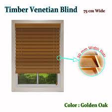 timber venetian blinds golden oak by caprice manchester house