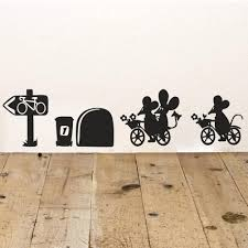 love you much funny mouse hole wall stickers decals living find more wall stickers information about love you much funny mouse hole decals living room bedroom art wallpaper mural wedding