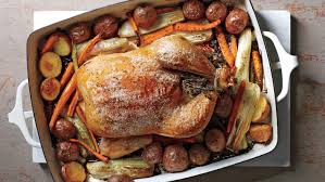 Roast Whole Chicken Herb Roasted Chicken And Vegetables