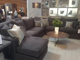 wonderful room and board sectional sofa 34 about remodel gray