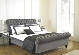 Grey Sleigh Bed Home Decorators Collection Gordon Grey Sleigh Bed 2309800270