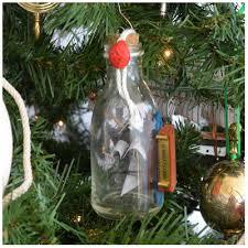 handcrafted nautical decor mayflower ship glass bottle