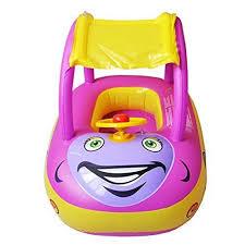 siege gonflable bébé toaob jeu de plein air type de voiture bouée bébé flotteur bateau