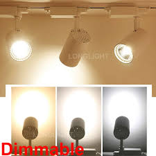 aliexpress buy track light led 12w 15w 20w 30w dimmable