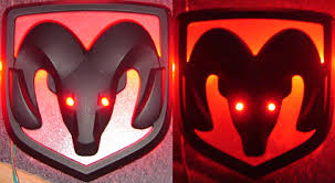 custom dodge ram badges led illuminated dodge ram emblem dodge charger forums