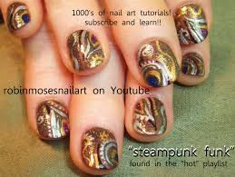 robin moses nail art steampunk nail art steam punk nail robin