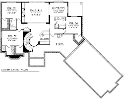 House Plans Angled Garage House Plan Chp 53772 At Coolhouseplans Com
