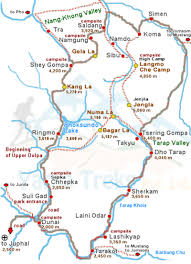 Porter Airlines Route Map by Upper Dolpo Trek Yarsa Treks