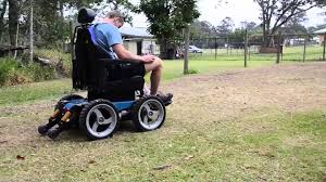 bush electric wheelchair with chin control option youtube