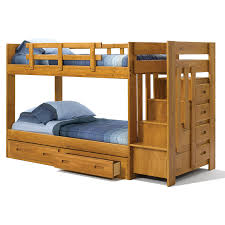 woodcrest heartland promo reversible stair twin over twin bunk bed