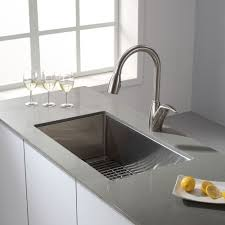 kraus 30 inch undermount stainless steel kitchen sink