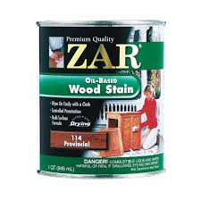 zar 1qt oil based wood stain in provincial 11412 wood finishes