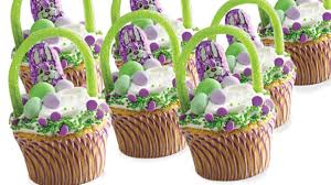 decorating easter baskets easter basket cupcakes recipe dollar general easy meals