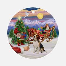 beagle ornament cafepress