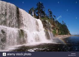 Park West Landscape by Pacific Rim National Park West Coast Trail Tsusiat Falls