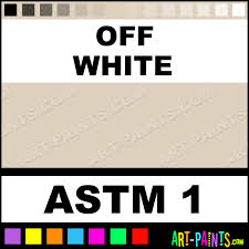 off white acrylic gouache paints astm 1 off white paint off