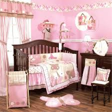 Pink Brown Crib Bedding Pink And Brown Crib Bedding