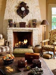 cream stone fireplace houzz