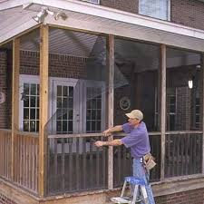 Screened In Porch Decor Faster Way To Install Porch Screens Porch Screens And Screened