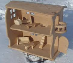 wood doll house handmade wooden dollhouse natural wooden