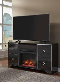 amrothi entertainment center with fireplace insert