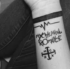 mcr tattoos for the different eras a for each one
