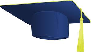 blue graduation cap blue graduation cap clip at clker vector clip online