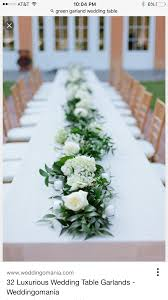 cheap garlands for weddings need some advice on diy a garland centerpiece