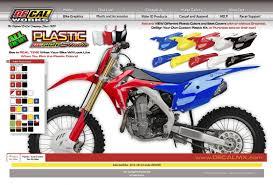 motocross bike graphics decal works u0027design studio u0027 4 0 plastic surgery motocross press