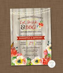 bbq wedding invitations i do bbq invitation printable bbq wedding shower by laceyfields