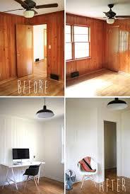 Wood Paneling Makeover Ideas | paint wood paneling on pinterest wood paneling makeover