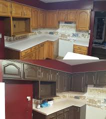 Changing Color Of Kitchen Cabinets Opaque Cabinet Color Change Nhance Revolutionary Wood Renewal