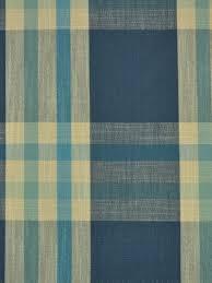 Blue Plaid Curtains Cotton Nautical Curtains Custom Made Polka Dot Plaid