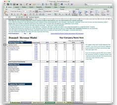 business plan financial model template bizplanbuilder inside