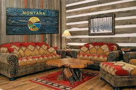 montana home decor montana state flag handmade distressed wooden vintage art