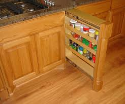 Narrow Pull Out Spice Rack Home Furnitures Sets Side Mounted Pull Out Spice Rack Pull Out