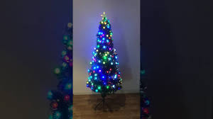fibre optic christmas tree youtube