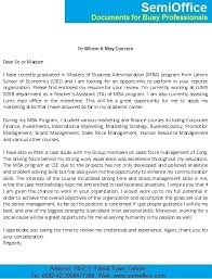 Sample Resume For Mba Freshers by Letter For Mba Freshers Job Application