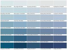 blue paint color denim sw 6523 from the pottery barn kids