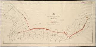 Boston Subway Map With Streets by File Tremont Street Subway Plan February 1895 Jpg Wikimedia Commons